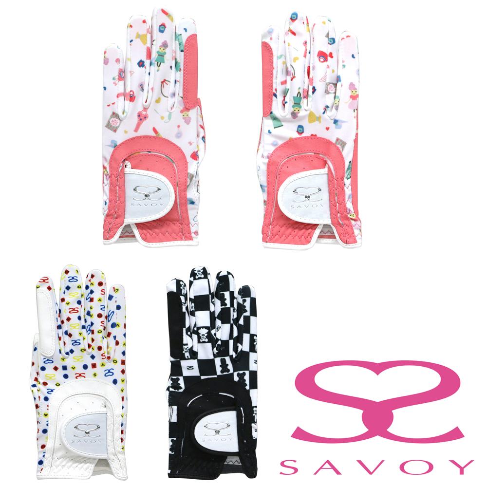 【ニュースリリース】ゴルフ場でもおしゃれを忘れない女性ゴルファーの手を華やかにする『SAVOY グローブ7003』全4商品を追加発売