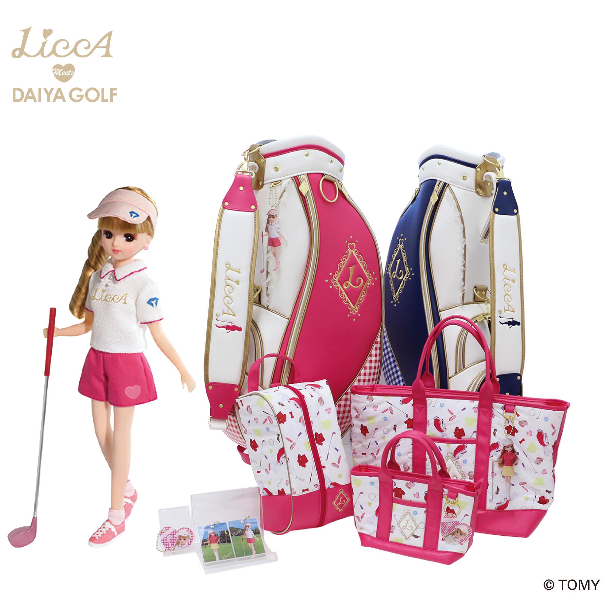 【ニュースリリース】「LiccA」とダイヤゴルフが女性ゴルファーに向けたコラボレーション「LiccA」ブランドのゴルフグッズ全13商品を発売