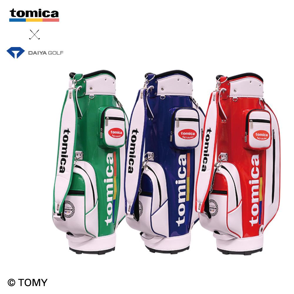【発売日変更のお知らせ】「tomica」とダイヤゴルフによるコラボレーション商品『tomicaキャディバッグ4102』