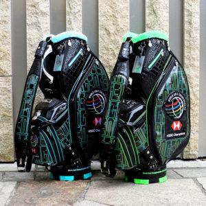 【ニュースリリース】世界ゴルフ選手権シリーズ公式デザイン2021年モデル『WGC キャディバッグ3070』を数量限定発売