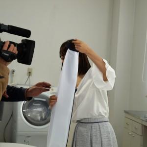 テレビ東京 WBS【トレたま】:開発中の「ふくらむ洗濯ネット(仮)」が紹介されました。※2017年1月17日放映