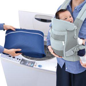 【ニュースリリース】厚さ約3mmのクッションメッシュにより洗濯機で優しく洗える『ダイヤ 抱っこひものための洗濯ネット』を発売