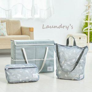 【ニュースリリース】大容量約48リットル業界最大クラスの洗濯用品収納バッグ『ランドリーズ ハンガーストレージバッグ』をLOHACOで発売