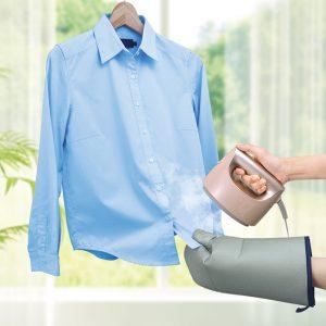 【ニュースリリース】引っ張りながらシワとりができる衣類スチーマー向けミトン『セラミックスアイロンミトン スチーマー用』を発売